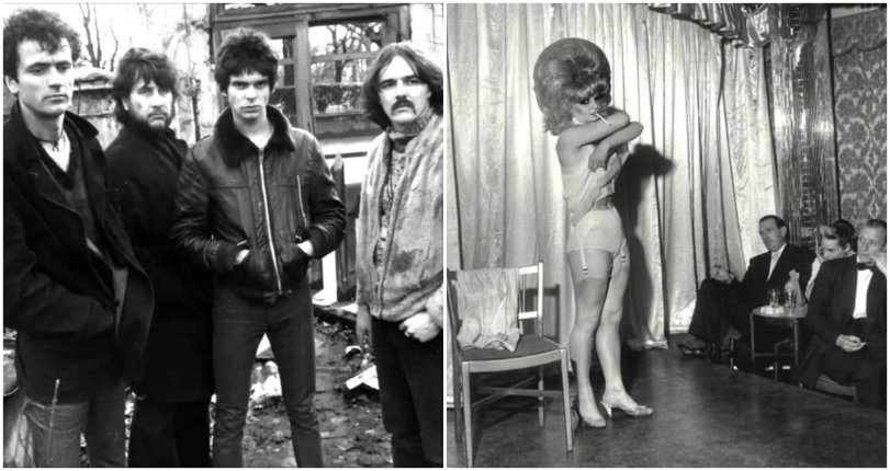 The Stranglers' live performance of 'Nice 'n' Sleazy' with a bunch of strippers from 1978