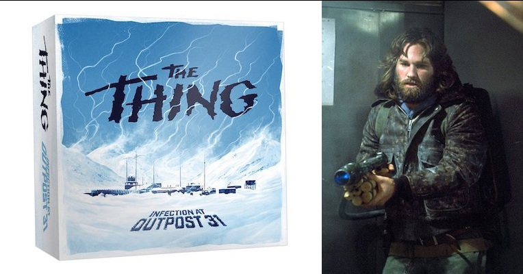 Board game based on John Carpenter's 'The Thing' looks AMAZING