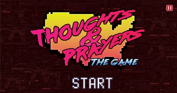 Play 'Thoughts and Prayers,' the video game that allows you to feel good about doing nothing!