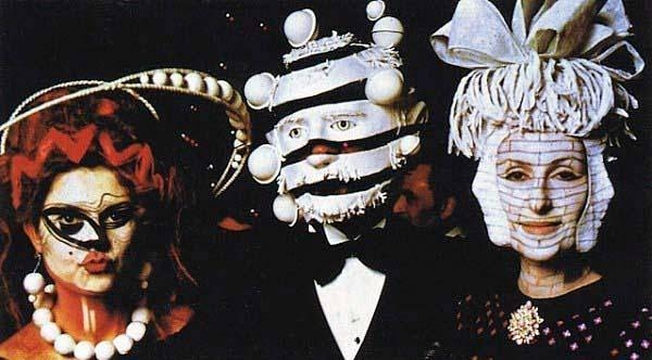 Glimpses of the extravagant Surrealist Ball of 1972