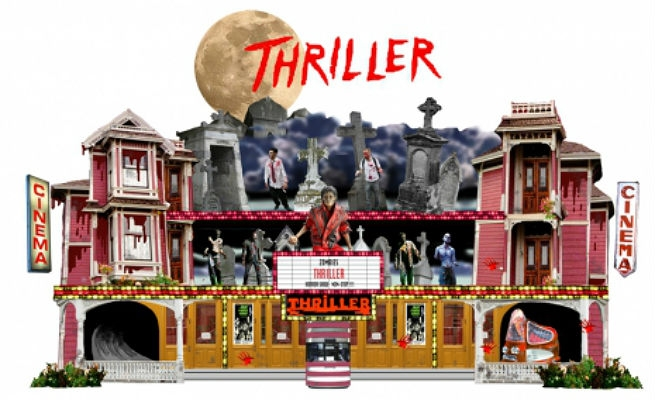 The unauthorized Michael Jackson 'Thriller' amusement park ride is a REAL thing!