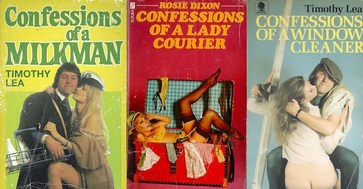 Confessions of a Dirty Book Writer: The sexy, saucy paperback books of 'Timothy Lea' & 'Rosie Dixon'