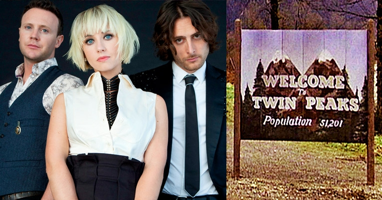 You know, this is—excuse me—a damn fine cover! The Joy Formidable revamps the 'Twin Peaks' theme