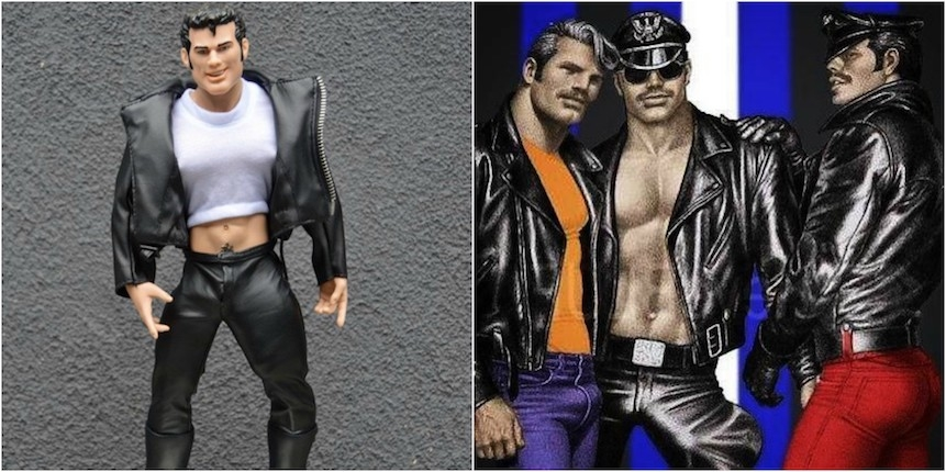 Behold the NSFW anatomically correct 'Tom of Finland' doll (detachable penises included!)