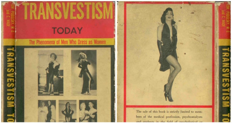 Vintage publications attempt to diagnose transvestism, masturbation & other sexual 'deviations'