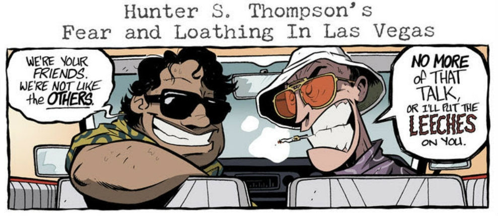 'Fear and Loathing in Las Vegas': The gonzo graphic novel
