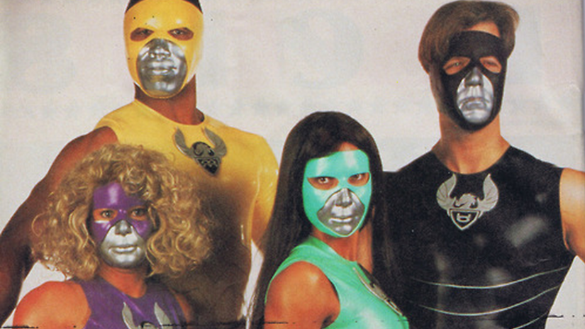 The low-watt spandex thrills of 'Tattooed Teenage Alien Fighters from Beverly Hills'