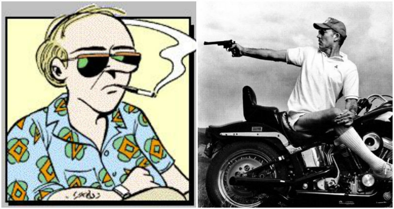 The 'Uncle Duke' action figure that made Hunter S. Thompson want to 'rip out' Garry Trudeau's lungs