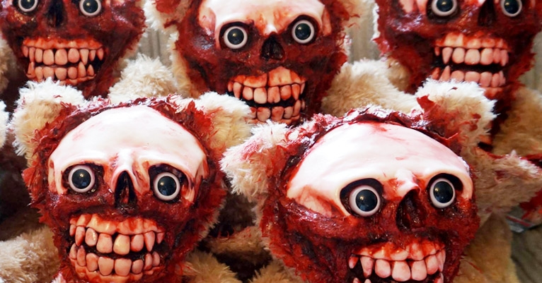 Undead Teds—zombie teddy bears for when your inner child is too fucked up for words
