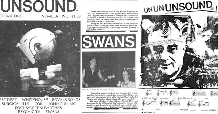 Legendary Bay Area industrial zine UNSOUND available in full online