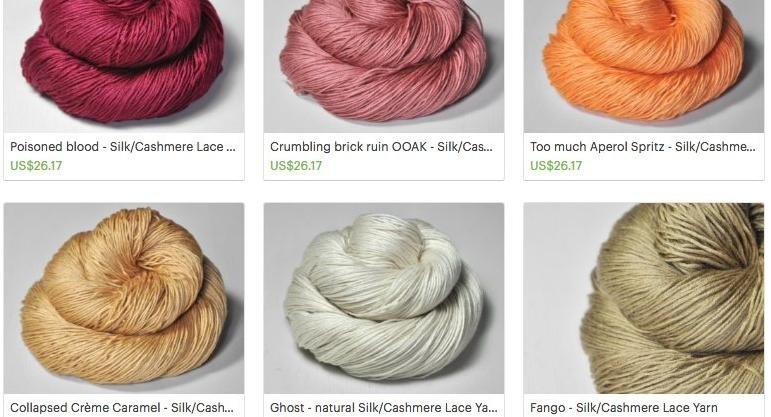 'Is the person naming these colors of yarn okay?'