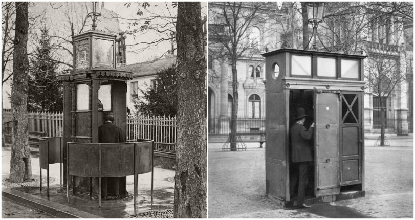 Territorial Pissing: The 19th century public urinals of Paris