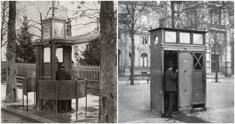 Territorial Pissing: The 19th century public urinals of Paris