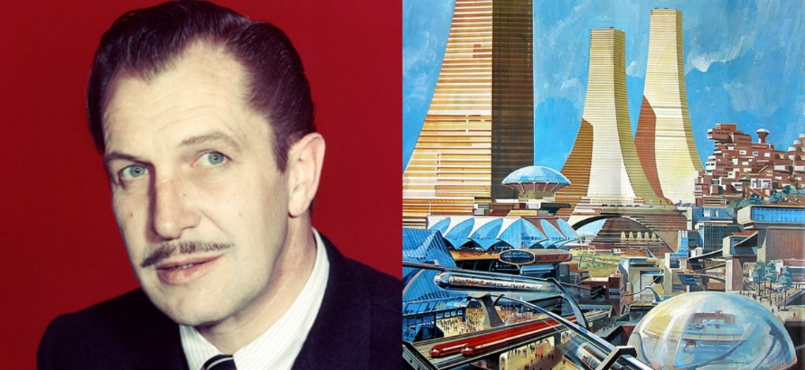 Vincent Price narrates a musical journey to the amazing year 2000