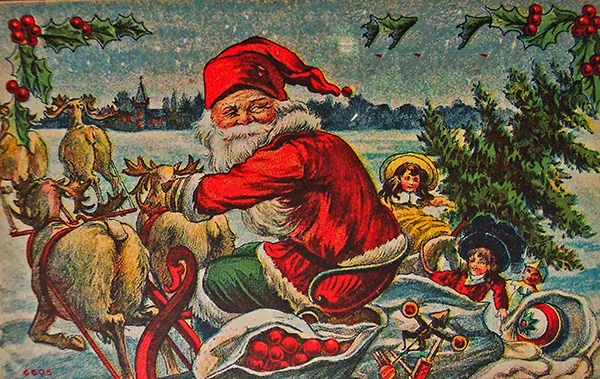 'All I eat is raw meat': REALLY weird letters to Santa from 1920s rural kids