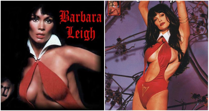 In the flesh: The voluptuous models who brought the famous female vampire Vampirella to life