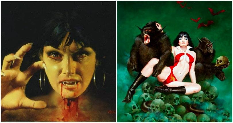 The man who painted Vampirella: The hypnotic artwork of Enrique Torres-Prat