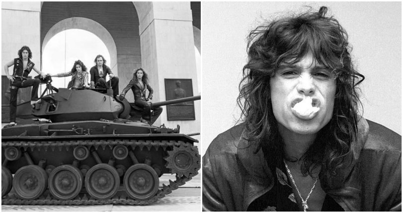 Van Halen wanted to crush a Volkswagen Beetle with a tank in 1979… just to piss off Aerosmith