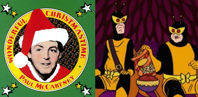 Venture Bros henchmen #21 and #24 hilariously cover Paul McCartney's shitty Christmas ditty