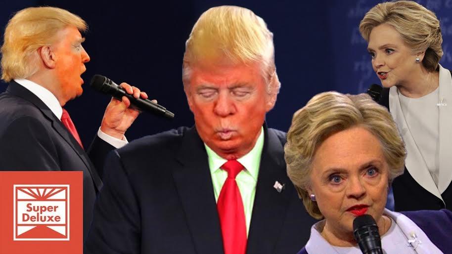 'Trump Has A Huge Night at the Second Presidential Debate': Genius funny new Vic Berger supercut