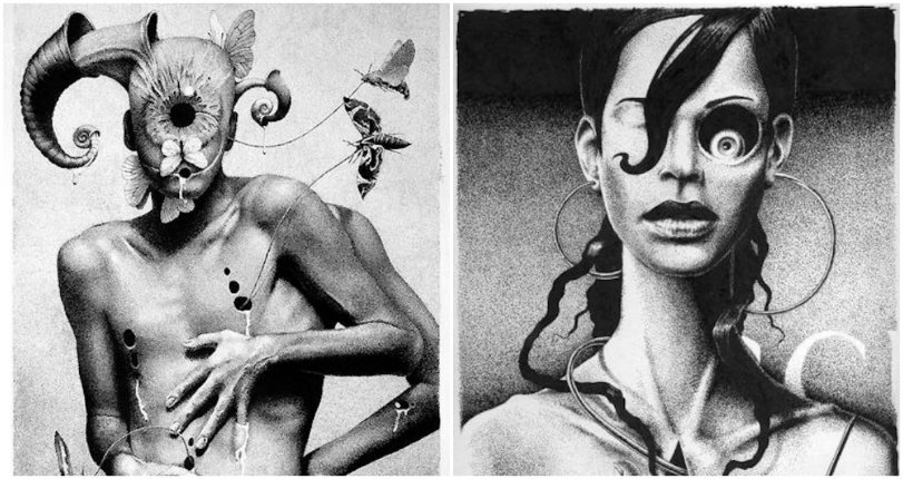 From Russia with drugs: The twisted erotic surrealism of Dmitry Vorsin