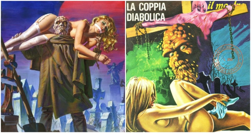 Monsters, mayhem & lots of nudity: The gory erotic horror of Italian comic 'Wallestein il Mostro '