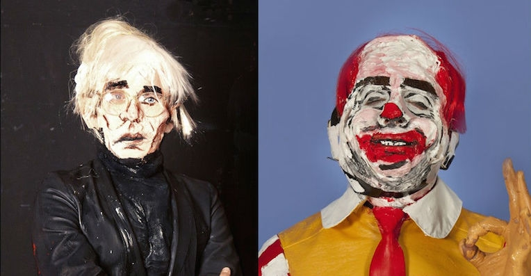 'Living sculptures' of world leaders, artists, and other wackos