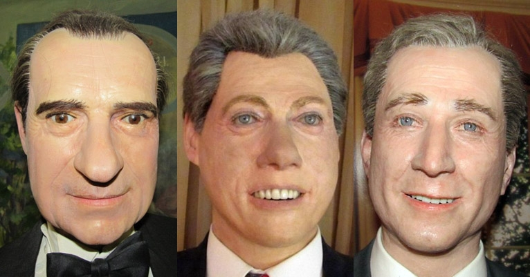 These creepy, shitty Presidential wax museum figures can be all yours