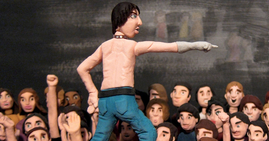 'What is Punk?': Children's book answers that question with clay figures of Iggy Pop and the Clash