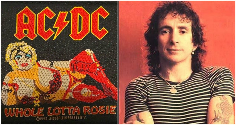 The story of the real 'Whole Lotta Rosie': Bon Scott's real-life obsession with bodacious women