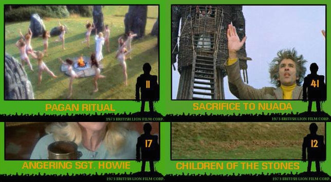 'Wicker Man' trading cards