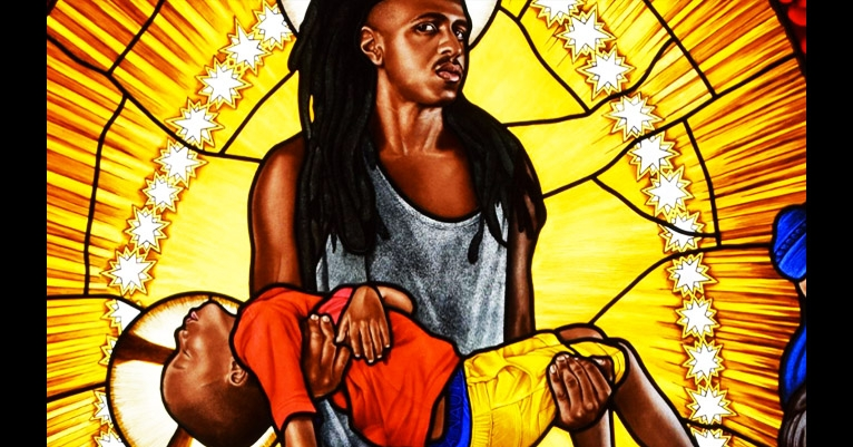 Lamentations: Stunning stained glass windows of black lives by Kehinde Wiley