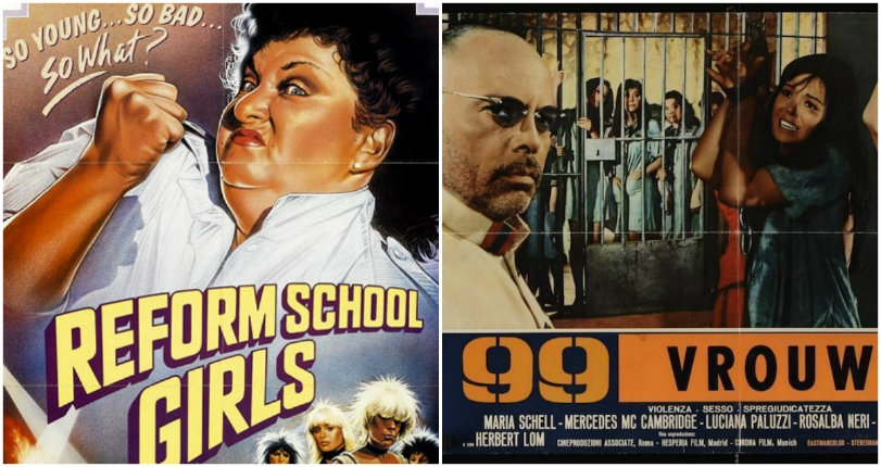 Bad girls behind bars: Vintage 'women in prison' exploitation movie posters