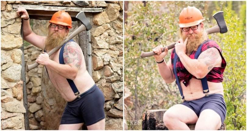 Meaty, Beaty, Big and Beardy: Behold the hairy glory of the 2018 'Whimsical Woodsman' calendar