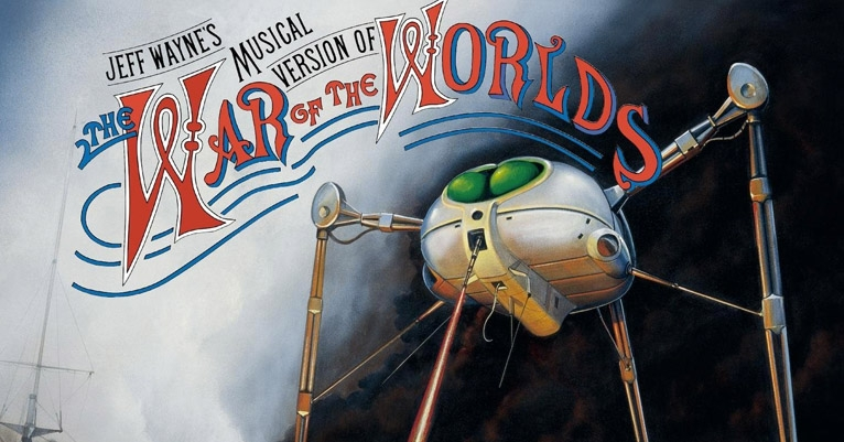 INSANE 70s 'War of the Worlds' prog opera with Richard Burton & members of Thin Lizzy & Moody Blues