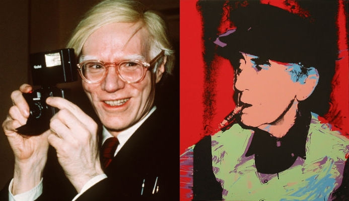 And then Andy Warhol took another one of Man Ray