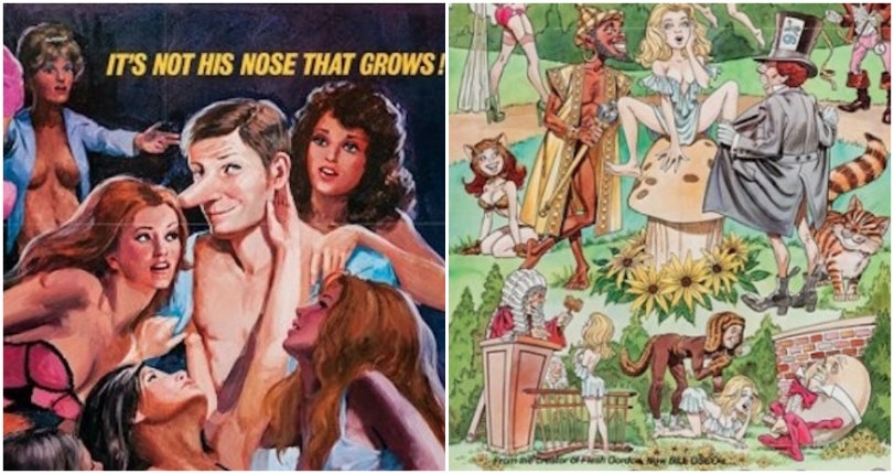 'Thar She Blows!' Amusingly illustrated 'X Rated' movie posters from the 60s and 70s