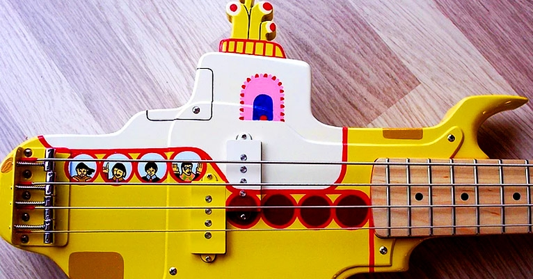So here's a 'Yellow Submarine' bass and of course WE WANT IT