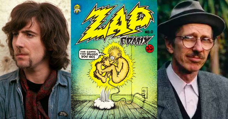 Graham Nash is auctioning his R. Crumb originals, including a cover for the long-lost Zap Comix #1
