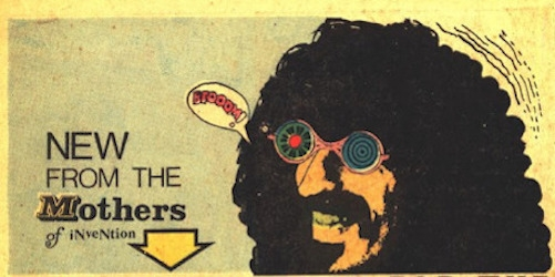 Groovy 1968 Frank Zappa advertisement from Marvel Comics' Daredevil #38