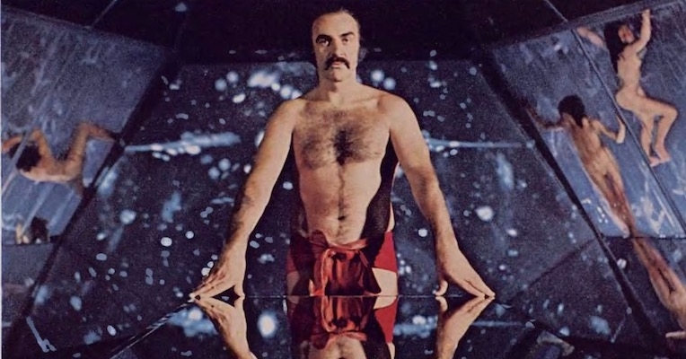 'The penis is evil!': Sean Connery & Charlotte Rampling in 'Zardoz,' the Playboy spread (NSFW)