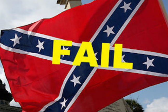'God don't like ugly': Confederate flag parade in Georgia goes hilariously WRONG!