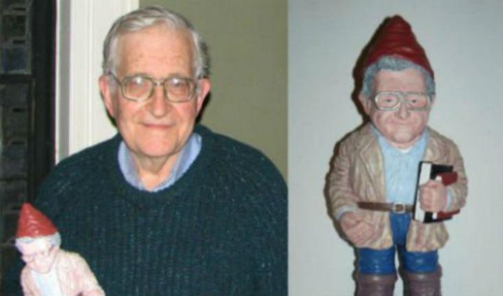 Noam Chomsky garden gnome