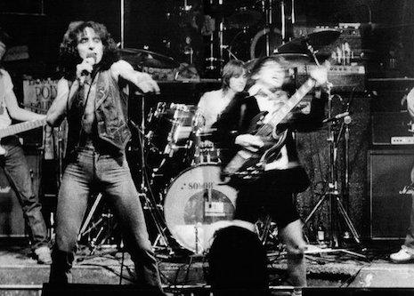 AC/DC live at CBGB's, 1977