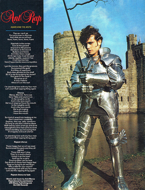 Adam Ant Smash Hits December/January 1982