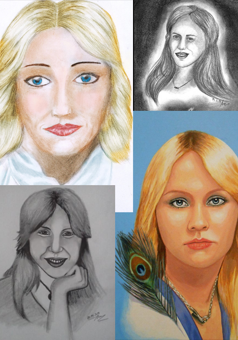 Agnetha Portraits - Saturday Morgen Cartoons 2