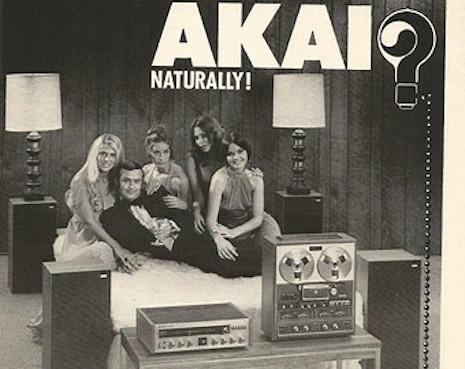 Akai stereo ad, 1970s
