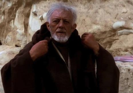 Alec Guinness, a.k.a. Obi-Wan Kenobi, kind of hated 'Star Wars'