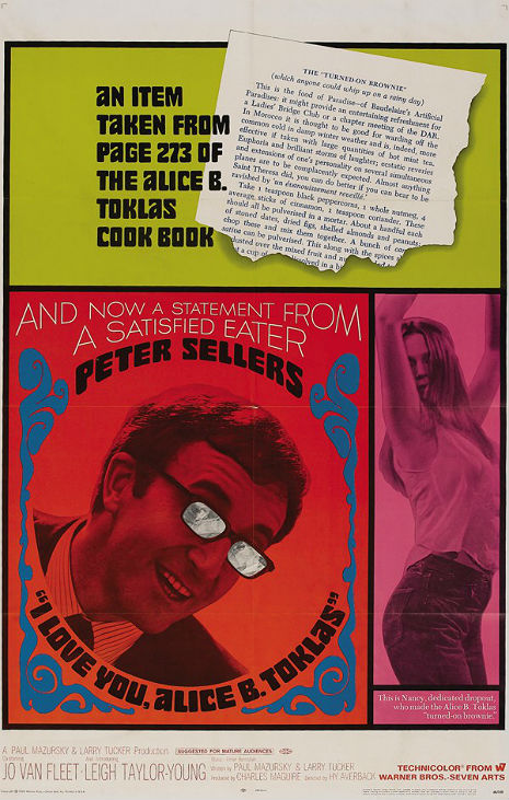 The notorious 'pot brownie' recipe from 'The Alice B. Toklas Cookbook'