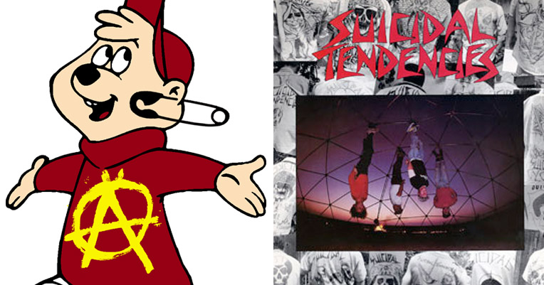 Alvinstitutionalized: Goof band Chipmunk-punks Suicidal Tendencies